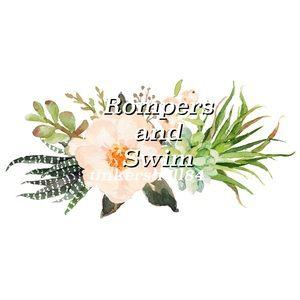 Rompers and Swimwear